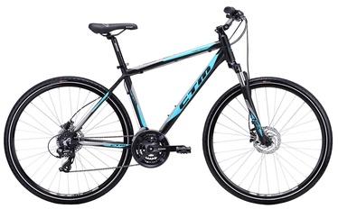 "Jalgratas Romet Twister 3.0 19"" 28"" Black Blue 19"