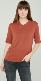 Audimas Lightweight Soft T-Shirt With Extended Back Red S