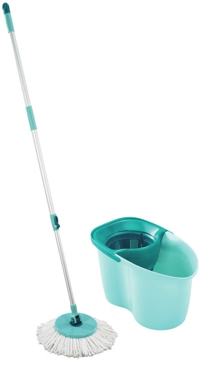 Leifheit Floor Cleaning Kit Clean Twist Disc Mop Active