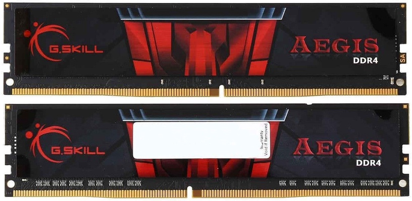 G.SKILL Aegis 16GB 3000MHz CL16 DDR4 DIMM KIT OF 2 F4-3000C16D-16GISB