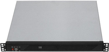 "Gembird 19"" Rack-mount ATX 1U Black 19CC-1U-001"
