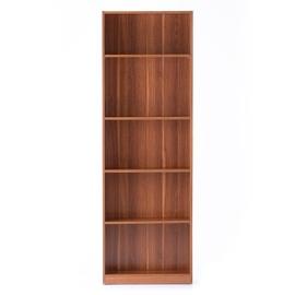 Riiul Homede Plix Bookcase Wallnut