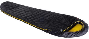 Magamiskott High Peak Pak 1000 225 Black/Yellow, vasak, 225 cm