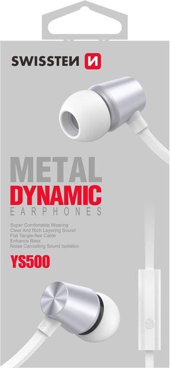 Swissten YS500 In-Ear Headset White