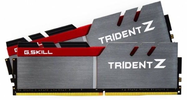 G.SKILL TridentZ 16GB 3400MHz DDR4 CL16 DIMM KIT OF 2 F4-3400C16D-16GTZ