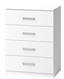 Kummut WIPMEB Tatris 01 White, 60x40x80 cm