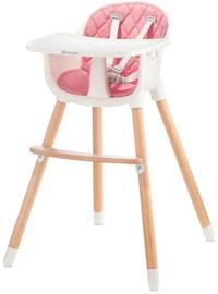 Стульчик для кормления KinderKraft Sienna Highchair, розовый