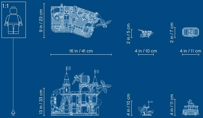 Konstruktor LEGO® Friends 41430 Suvine lõbus veepark