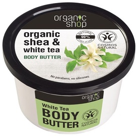 Organic Shop Body Butter White Tea 250ml