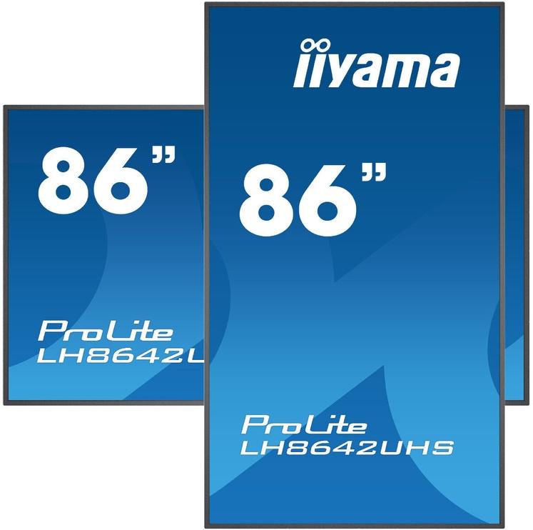Монитор Iiyama ProLite LH8642UHS-B1, 85.6″, 8 ms