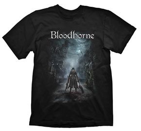 Gaya Entertainment T-Shirt Bloodborne Night Street Black S
