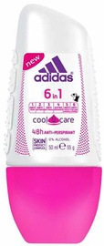 Adidas 6in1 Cool & Care 48h Roll On 50ml Antiperspirant
