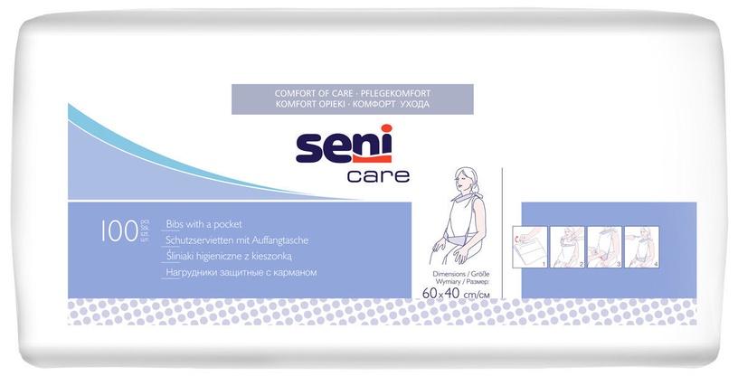Seni Bibs With Pocket 100pcs