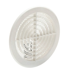 SN 041010 ABS Ventilation Grill 125mm White