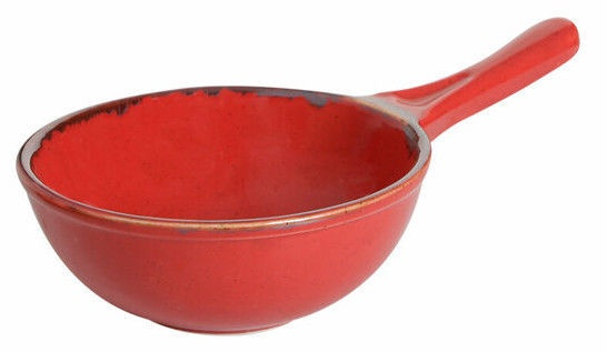 Porland Seasons Serving Pan D15cm Red