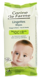 Corine De Farme Baby Face & Hand Wipes With Calendula 25pcs