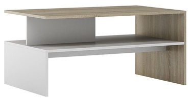 Szynaka Meble Helios Coffee Table Sonoma Oak/White