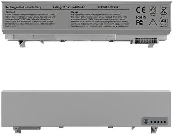 Qoltec Long Life Notebook Battery For Dell Latitude E6400/E6500 4400mAh