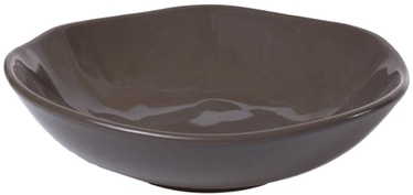 Bradley Ceramic Plate Organic 22cm Brown