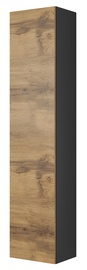 Halmar Livo S180 Hanging Cabinet Antracite/Votan Oak