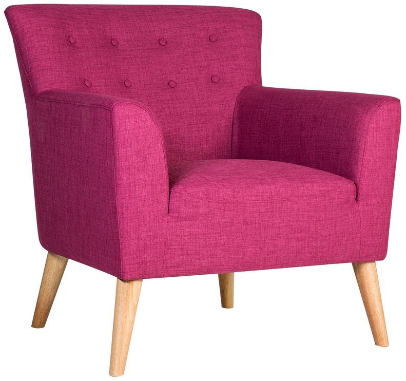 Tugitool Home4you Movie Fuchsia, 83x76x83 cm