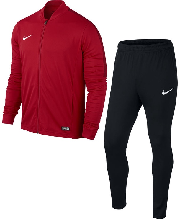 Nike Academy 16 Knit Junior Tracksuit Red Black L