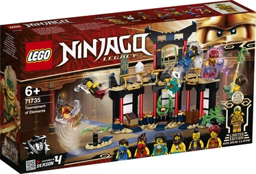 KONS LEGO NINJAGO TOURN OF ELEMENT 71735