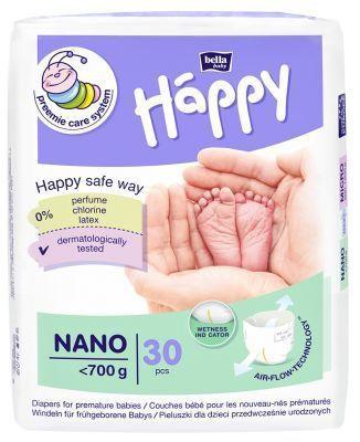 Mähkmed Bella Baby Happy Nano, 0, 30 tk