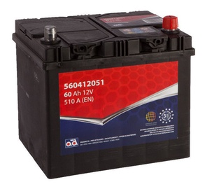 AD Europe Starter Battery 60Ah 510A Right