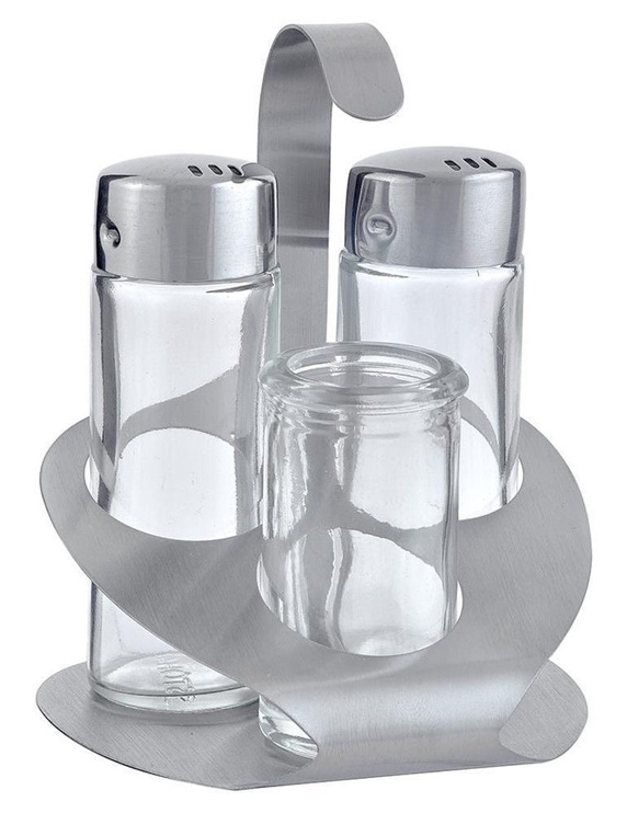 Fackelmann Stoha Stand With Salt/Pepper Shakers And Toothpick Holder 3pcs