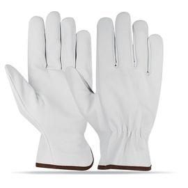 SN Leather Gloves AB-1106 10 White