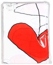 Ridder Shower Curtain Textile White/Red