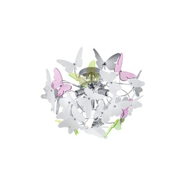 Trio Reality Ceiling Lamp Butterfly R60213017 3x28W