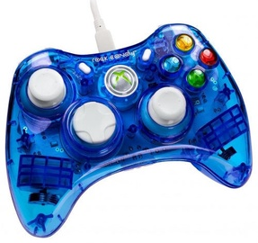Pdp Rock Candy Wired Controller Blueberry Boom