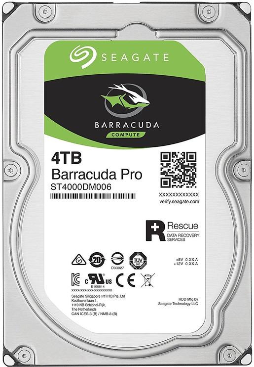 Seagate BarraCuda 4TB 7200RPM SATAIII 128MB ST4000DM006