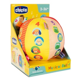 Interaktiivne mänguasi Chicco Musical Ball 15cm