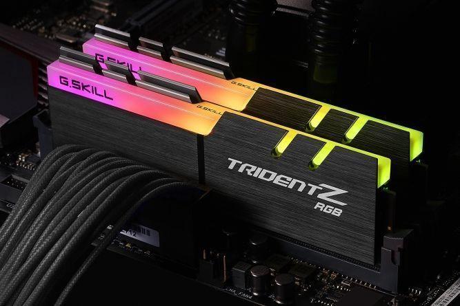 G.SKILL Trident Z RGB 16GB 3866MHz CL18 DDR4 KIT OF 2 F4-3866C18D-16GTZR