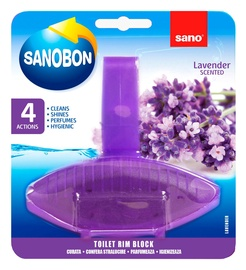 Sano Sanobon Lavender Toilet Rim Block 55g