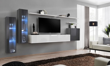 ASM Switch XI Wall Unit Graphite/White