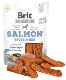 Brit Jerky Salmon Protein Bar delikatess 80g