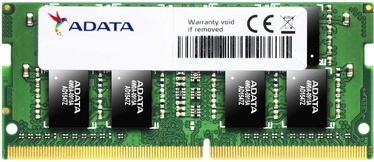 Adata 8GB 2666MHz CL19 DDR4 SODIMM AD4S266638G19-S