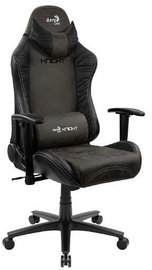 Игровое кресло Aerocool KNIGHT Iron Black