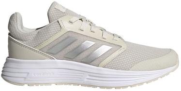 Adidas Women Galaxy 5 Shoes FW6121 Light Beige 41 1/3