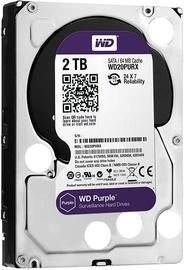 Western Digital Purple Series 2TB 5400RPM SATAIII 64MB WD20PURZ