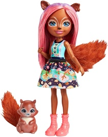 Mattel Enchantimals Sancha Squirrel Doll FMT61