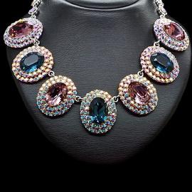 Diamond Sky Necklace Empress With Swarovski Crystals