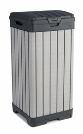 Keter Rockford Waste Bin 125l Grey