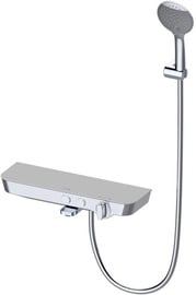 Vento Tivoli Thermostatic Faucet with Spout/Shelf White/Chrome