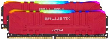 Crucial Ballistix RGB Red 16GB 3200MHz CL16 DDR4 KIT OF 2 BL2K8G32C16U4RL