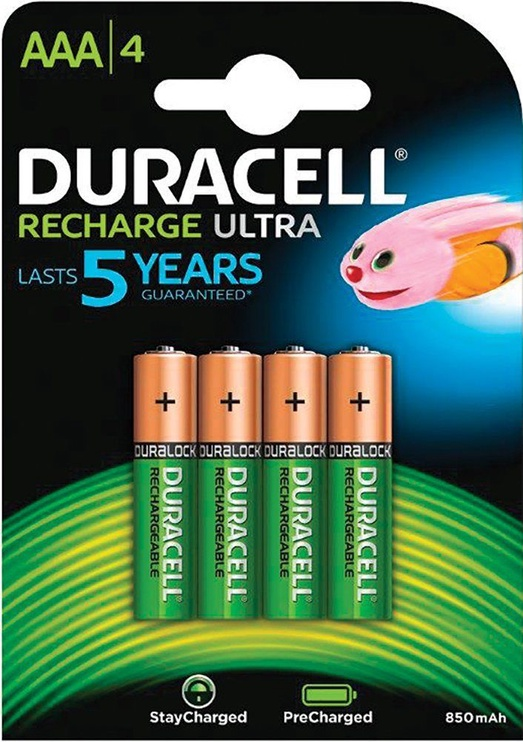 Duracell Recharge Ultra Batteries AAA x4